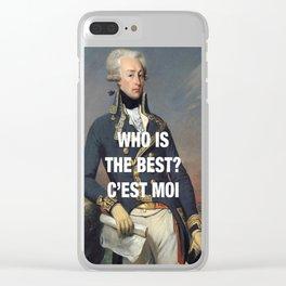 Lafayette — C'est Moi Clear iPhone Case