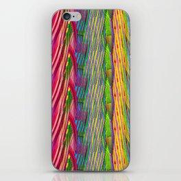 Rainbow Waves  #society6 #decor #buyart iPhone Skin