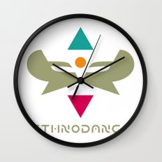 Ethnodance Wall Clock