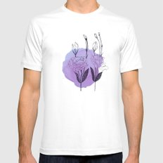 lisianthus Mens Fitted Tee MEDIUM White