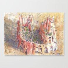 L'Oasi Canvas Print