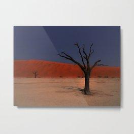 Haunting Deadvlei Namibia Africa Metal Print