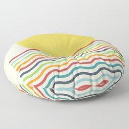 Morning Sunrise Floor Pillow