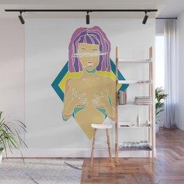 Lady Girl Wall Mural
