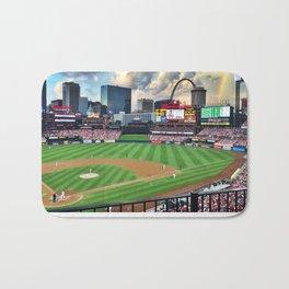 St. Louis Cardinals Busch Stadium Bath Mat