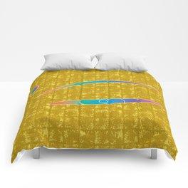 The Eye of MIROKU GOD on Gold-leaf Screen Comforters