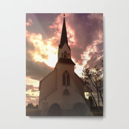 Atlanta Lutheran Church Metal Print