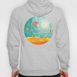 Bagan at sunrise Hoody