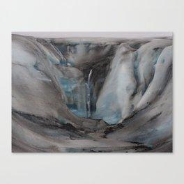 Iceland - Glacier Canvas Print