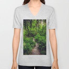 Rainforest Trail Unisex V-Neck