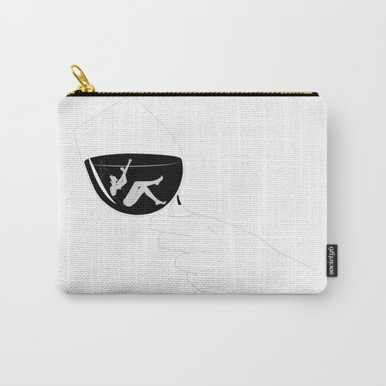 A glass of wine Carry-All Pouch