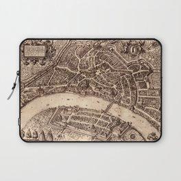 Map Of Basel 1615 Laptop Sleeve