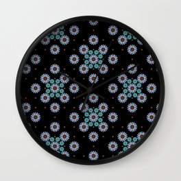 pattern night relaxe Wall Clock