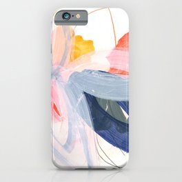 abstract painting XVII iPhone Case