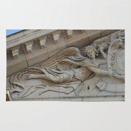 Sensual angel of Val de Grace Church in Paris Rug