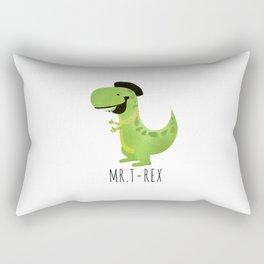 Mr. T-Rex Rectangular Pillow