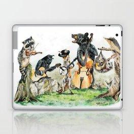 """"""" Bluegrass Gang """" wild animal music band Laptop & iPad Skin"""