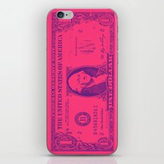 PINK MONEY iPhone & iPod Skin