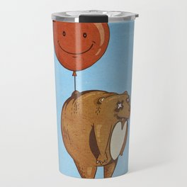 Float On, Bear, Float On Travel Mug