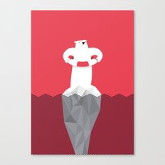 OS.O.S (Bears S.O.S.) Canvas Print