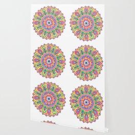 Summer Dewdrop Mandala Wallpaper