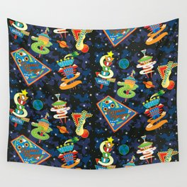 Cosmic Voyage Wall Tapestry