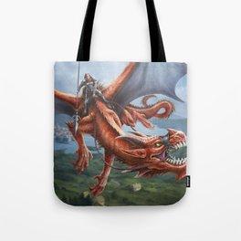 Dragon Rider Tote Bag