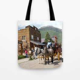 Catch the Afternoon Stage out of Silverton Tote Bag