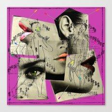 accupuncture Canvas Print