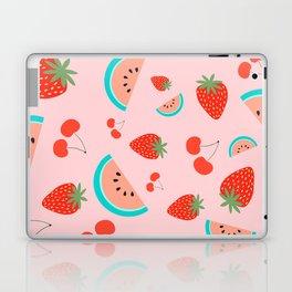 Fruit Salad (Pastel Pink) Laptop & iPad Skin
