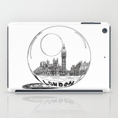 London in a glass ball iPad Case