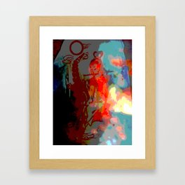 image for peace Framed Art Print