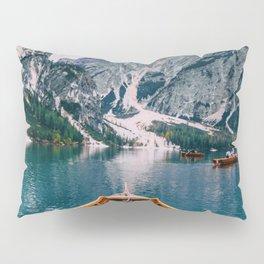 Canoe Mountains (Color) Pillow Sham
