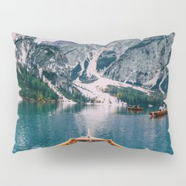 Canoe Mountains (Color) Pillow Sham