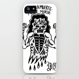 even death can die iPhone Case