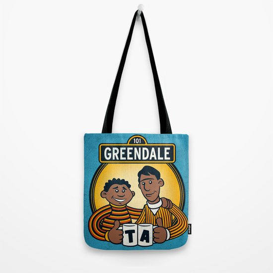 Greendale Street Tote Bag