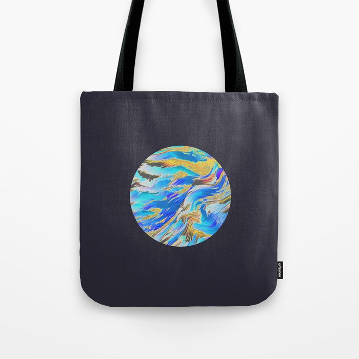 Blue Planet Tote Bag