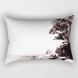 Beach days monochrome Rectangular Pillow