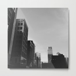 Broderick Tower - Detroit, MI Metal Print