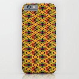 African kente pattern 6 iPhone Case