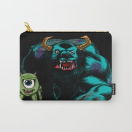 Mike & Sully (black)... Carry-All Pouch