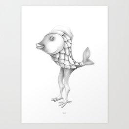 hello, I'm Solo Art Print