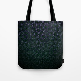 Enchanted Forest Mandala Tote Bag