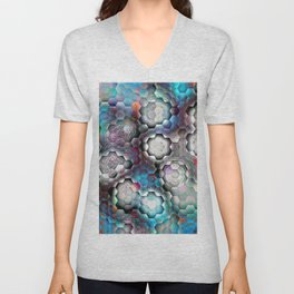 abstract bp Unisex V-Neck