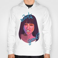 nicki Hoodies featuring WHAT'S GOOD? by nime
