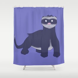 Bandit Shower Curtain
