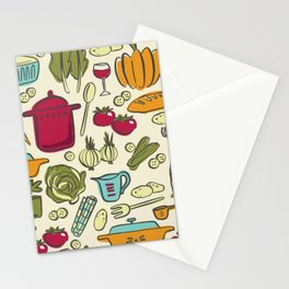 Cookin' Stationery Cards