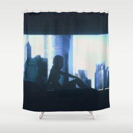 Day 0981 /// Shamefully GITS-inspired Shower Curtain