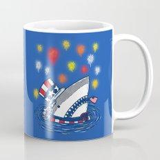 The Patriotic Shark Mug