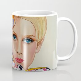 Twiggy 1960's Super Model Coffee Mug